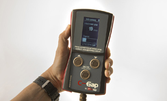 the C-gap hand held device measurement bulbs